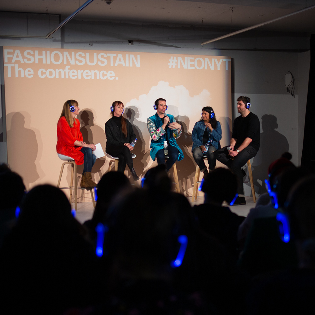 Fashionsustain conference at Neonyt in Berlin