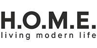H.O.M.E. living modern life Logo