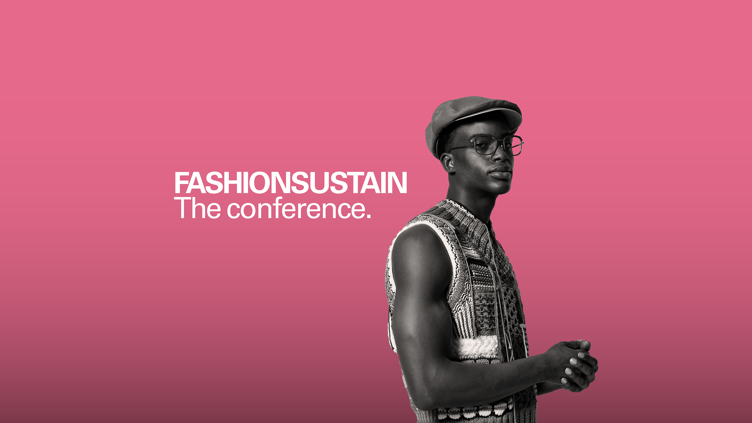 "Keyvisual ""Fashionsustain. The conference."""